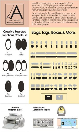Cricut Shapes Cartridge-Tags, Bags, Boxes & More (Personal Cricut compare prices)