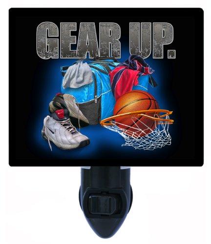 Sports Night Light - Gear Up Basketball LED NIGHT LIGHT