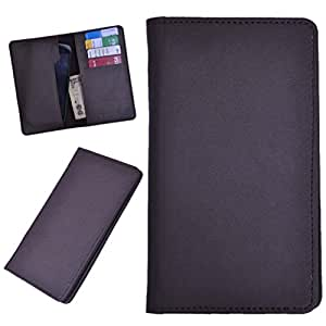 DSR Pu Leather case cover for Celkon A35K Remote (brown)