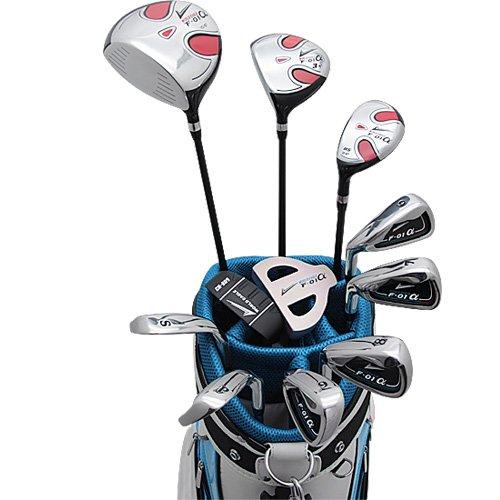 [해외] 월드 이글 F-01α맨즈 골프 클럽 풀 세트 CBX5 화이트ver.【왼쪽용】플렉스R WE-J-F-01-MLH-CBX5-R   R