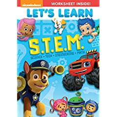 LET'S LEARN: S.T.E.M. available on DVD April 28th from Nickelodeon