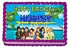 Teen Beach Movie 1/4 Sheet Edible Photo Birthday Cake Topper. ~ Personalized!