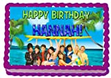 Teen Beach Movie 1/4 Sheet Edible Photo Birthday Cake Topper. ~ Personalized!