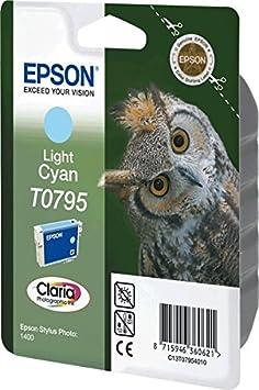 EPSON cartouche d'encre cyan clair t07954010 contenance 11 ml