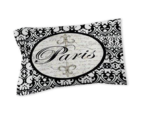Thumbprintz Pillow Sham, King, Paris Circle Damask front-691205