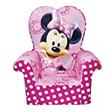 Marshmallow Furniture Minnies Bow-Tique High-Back Chair