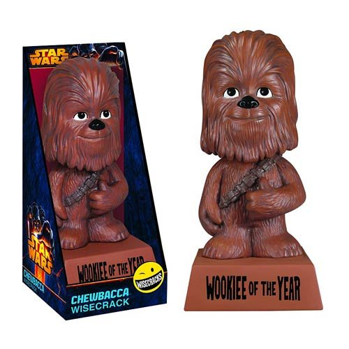 Funko Star Wars Wacky Wisecracks Chewbacca Action Figure - 1