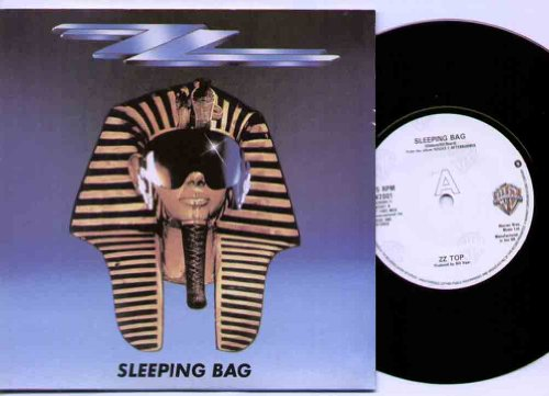 ZZ Top Sleeping Bag 7 inch vinyl