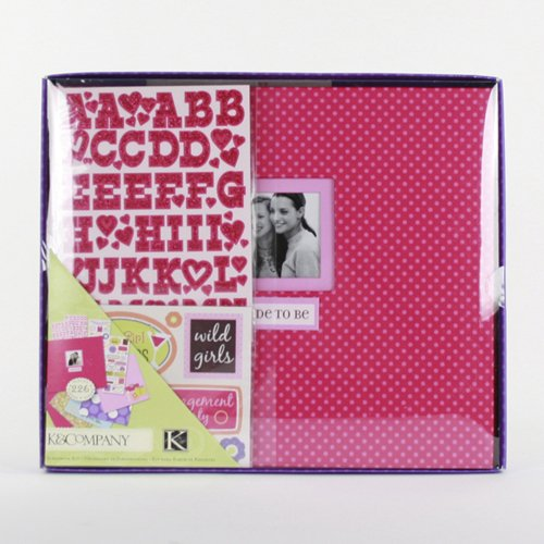 Postbound Scrapbook Kit Boxed 8-Inch by 8-1/2-Inch, Bride To Be