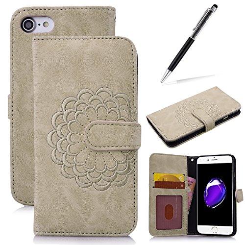 pu-pelle-cover-per-iphone-747-grandever-leather-tinta-unita-protettiva-portafoglio-custodia-con-tpu-