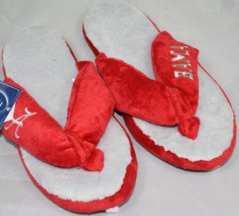 Cheap Alabama Crimson Tide NCAA Flip Flop Thong Slippers (B006KYRTTK)
