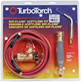 Victor TurboTorch 0386-0090 WSF-4 Torch Kit Sof-Flame, for B tank, Air Acetylene