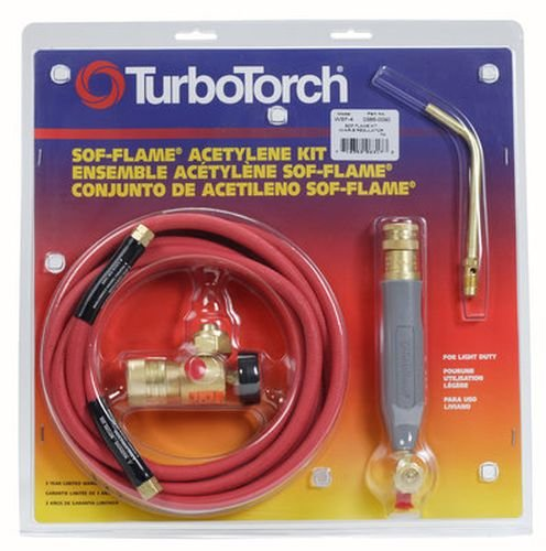 TurboTorch 0386-0090 WSF-4 Torch Kit Sof-Flame, for B tank, Air Acetylene (Torches For Hvac compare prices)