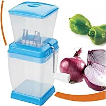 Varshine Plastic Vegetable & Fruit Chopper With Chop Blades & Cleaning Tool (Color May Vary),1-Piece - B01N6Y2KOS