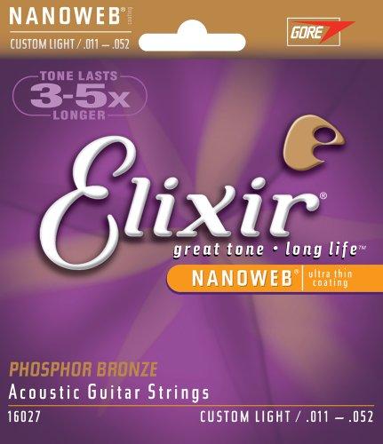 Elixir Strings Acoustic Phosphor Bronze Strings