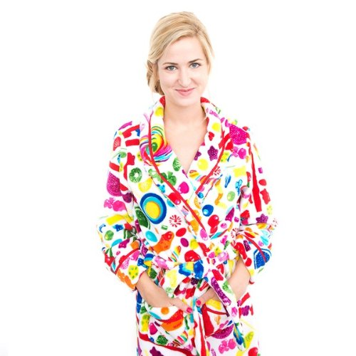 Dylan's Candy Bar Fuzzy Candy Spill Robe - Women