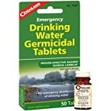 Coghlan S 7620 Drinking Water Tablets - 50 Tablets Model 7620 Spoorting Goods Shop