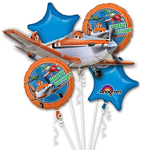 Anagram International Disney Planes Birthday Bouquet, Multicolor