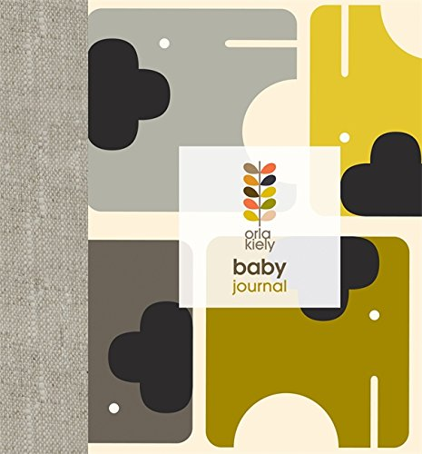 Orla Kiely Baby Journal (Baby Record Book)