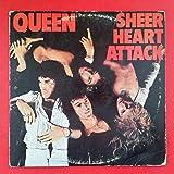 QUEEN Sheer Heart Attack LP Vinyl VG+ Cover VG Insert 1974 Elektra 7E 1026