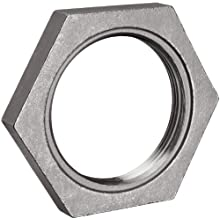 Stainless Steel 316 Cast Pipe Fitting, Hex Locknut, MSS SP-114, NPT Female