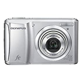 Olympus FE-47 14 MP Digital Camera with 5x Optical Zoom and 2.7-inch LCD (Silver)
