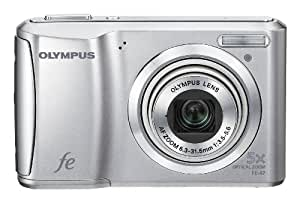 Olympus FE-47 14 MP Digital Camera with 5x Optical Zoom and 2.7-inch LCD (Silver) (Old Model)