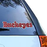 Ohio State Buckeyes Polka Dot Car Decal