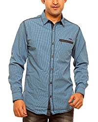 Mufti Men's Slim Fit Cotton Shirt 8903415379155