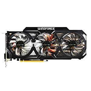 Gigabyte GTX780 Ti GDDR5-3GB 2xDVI/HDMI/DP OC Graphics Cards GV-N78TOC-3GD