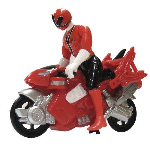 power rangers super samurai mini moto color rojo bandai 88451. Black Bedroom Furniture Sets. Home Design Ideas