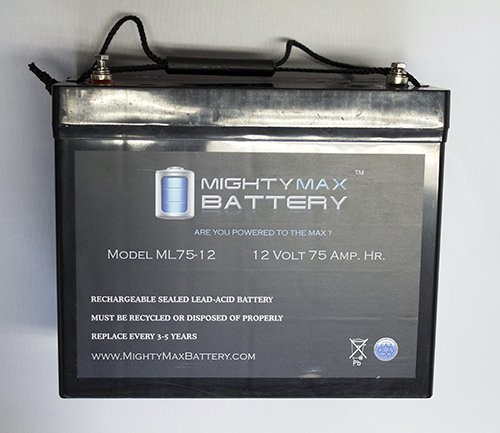 Ml75-12 12V 75Ah Battery Replaces Merits Atlantis P710, P7101, P7102