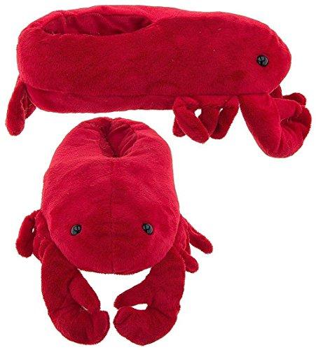 wishpets-adult-medium-red-lobster-slippers