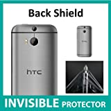 HTC One M8 INVISIBLE Back Protector (Back Shield included) Military Grade Protection Exclusive to ACE CASE