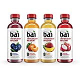 Bai Rainforest Variety Pack, Antioxidant Infused Beverage, 18 Ounce (Pack of 12)