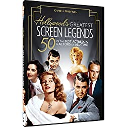 Hollywood's 50 Greatest Screen Legends + Digital