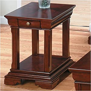 Miniatures Regal Cherry End Table End Tables Living Room