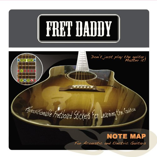 Fret Daddy Fretboard Notemap For Electric/Acoustic Guitar