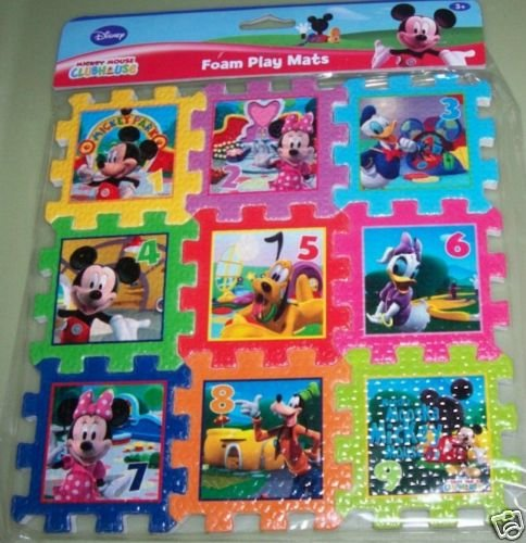 Cheap Greenbrier International Disney Mickey Mouse Clubhouse Foam Play Mat Puzzle 9″ x 9″ (B002WZN1IY)