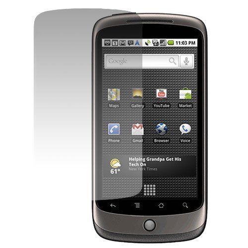 GTMax Durable Clear LCD Screen Protector For HTC Google Nexus One 1 Cell Phone