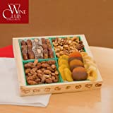 Dried Fruit and Nut Crate - 1lb 10oz. - Perfect Valentines Day, Easter, Client or Birthday Gift