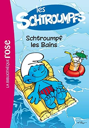 Les Schtroumpfs chez Bibliothèque Rose 51hfe1WcWFL._SY445_