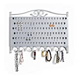 Mango Steam Slim Profile Wall-Mounted Jewelry & Earring Organizer