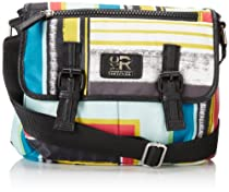 Kenneth Cole Reaction Corneila SM Cross Body Bag,Multi Stripe,One Size
