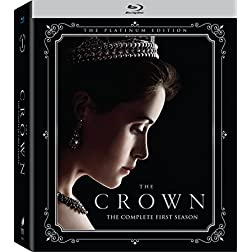 The Crown Season One (4 Discs) with Giftset [Blu-ray]
