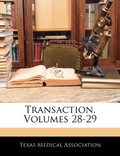 Transaction, Volumes 28-29