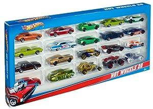 Mattel H7045 - Hot Wheels 20-er Pack, Geschenkset, zufallige Autos / Modelle