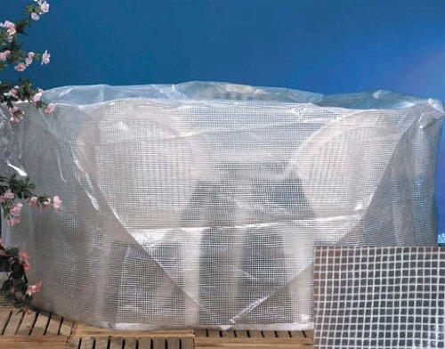 Brema 150.674 Sitzgruppenhülle 320cm aus transparenter Gitternetzfolie günstig kaufen