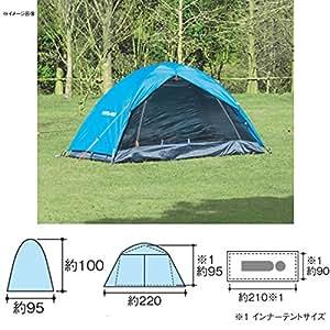 UNIFLAME(ユニフレーム) キャンプ用品 ソロテント コッテン 1