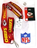 NFL Kansas City Chiefs Lanyard with Ticket Holder and Logo Pin at Amazon.com
